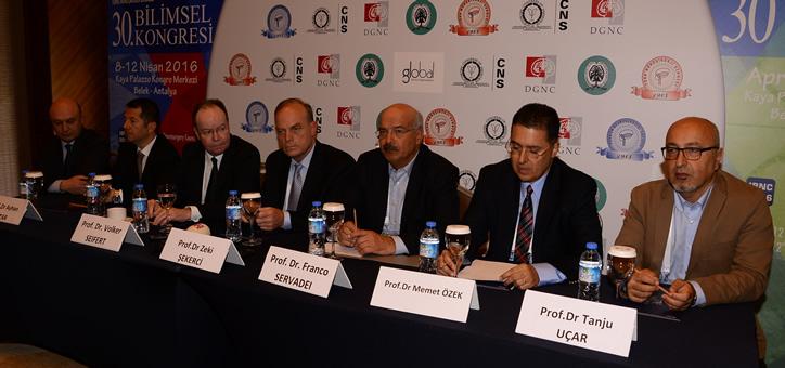 Türk Nöroşirürji Derneği'nin 30  Bilimsel Kongresi